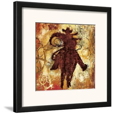 Roping-Guy Williams-Framed Art Print