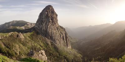 Roque De Agando, Mirador De Roques, Degollada De Agando, La Gomera, Canary Islands, Spain, Europe-Markus Lange-Photographic Print
