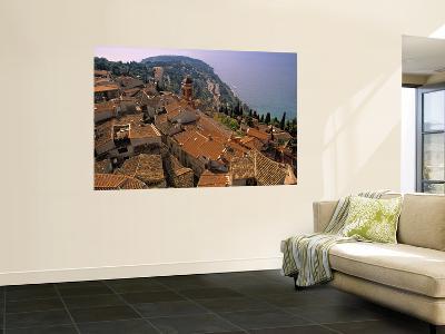 Roquebrune-Cap-Martin, Cote D'Azur, France-Walter Bibikow-Wall Mural