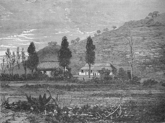 'Rorke's Drift before the Attack', 1879, (c1880)-Unknown-Giclee Print