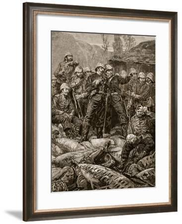 Rorke's Drift: the Morning after the Attack--Framed Giclee Print