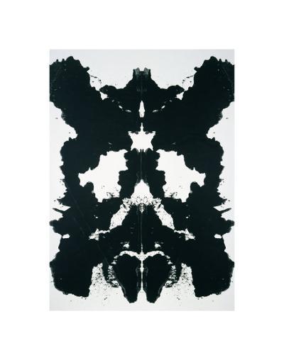 Rorschach, c.1984-Andy Warhol-Art Print