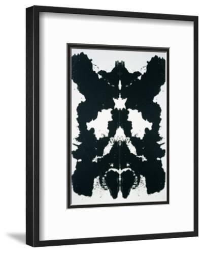 Rorschach, c.1984-Andy Warhol-Framed Art Print