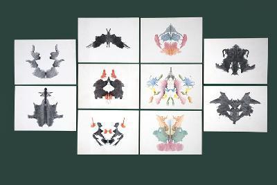 Rorschach Inkblot Test-Sheila Terry-Photographic Print