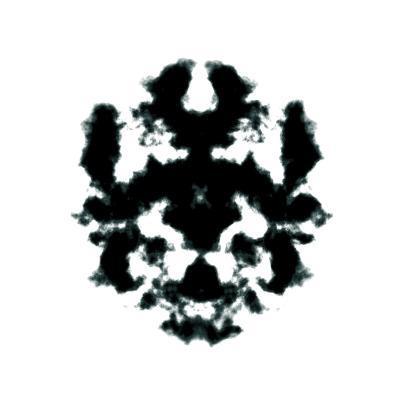 Rorschach Inkblot-kgtoh-Art Print