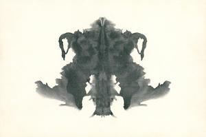 Rorschach Test in Black