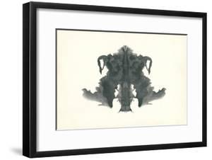 Rorschach Test in Black