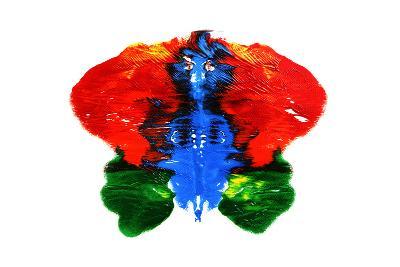 Rorschach Test-nito-Art Print