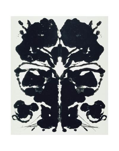 Rorschach-Andy Warhol-Art Print