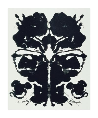 Rorschach-Andy Warhol-Giclee Print