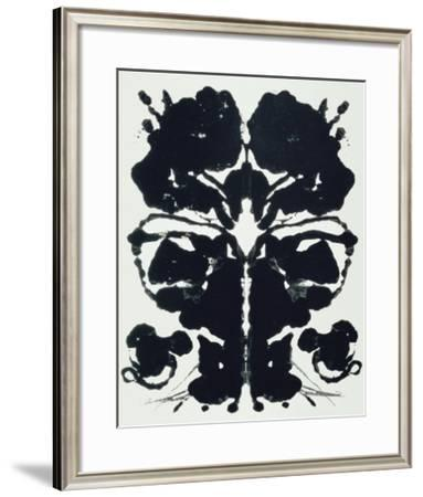 Rorschach-Andy Warhol-Framed Giclee Print