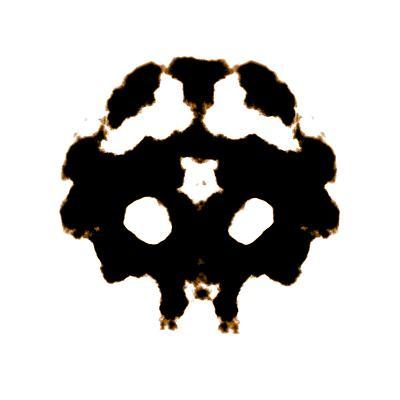 Rorschach-kentoh-Art Print