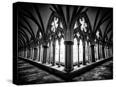 Cloisters in Salisbury Cathedral