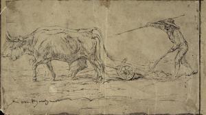 La charrue by Rosa Bonheur