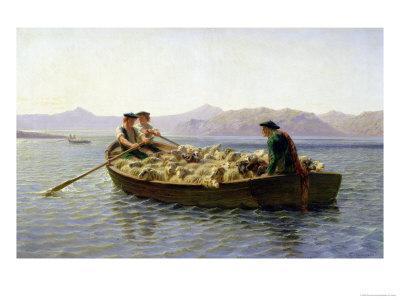 Rowing-Boat, 1863