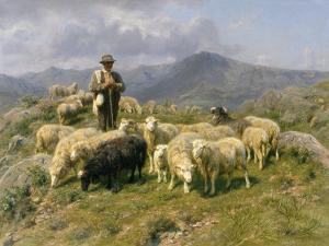 Shepherd of the Pyrenees, 1888 by Rosa Bonheur