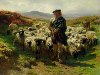 The Highland Shepherd, 1859