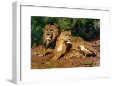The Lions at Home, 1881