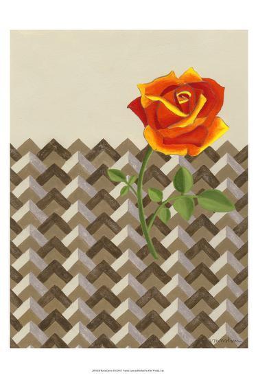 Rosa Dawn II-Vanna Lam-Art Print