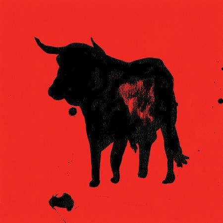rosa-mesa-pamplona-bull-ii