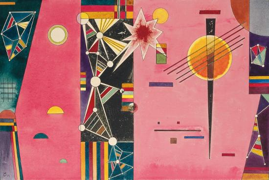 Rosa Rot. 1927--Giclee Print