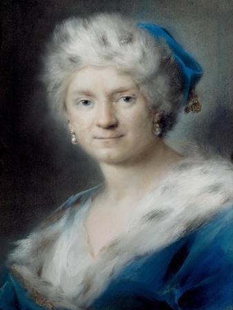 Self-Portrait as Winter, 1731