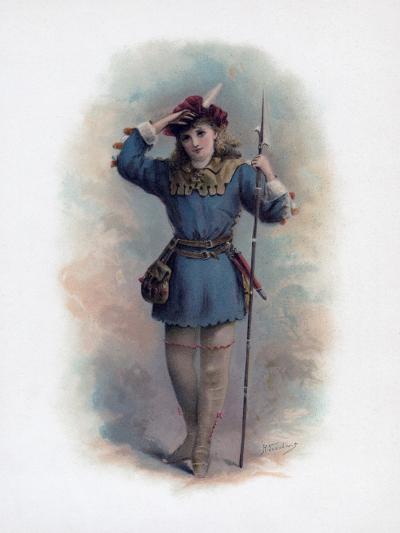 Rosalind, 1891-H Saunders-Giclee Print