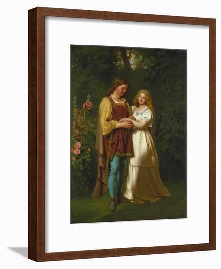 Rosalind and Orlando-John Faed-Framed Giclee Print
