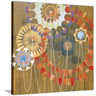 Rosathoria I (detail)-Rex Ray-Stretched Canvas Print