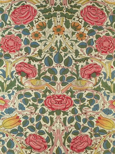 Rose, 1883-William Morris-Premium Giclee Print