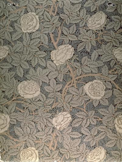 """Rose-90"" Wallpaper Design-William Morris-Premium Giclee Print"