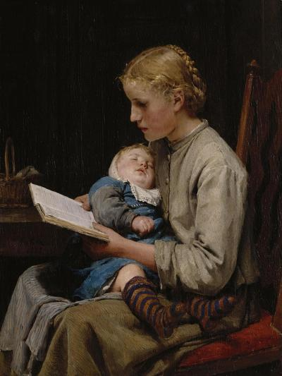 Rose and Bertha Gugger, 1883-Cecil Aldin-Giclee Print