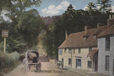 Rose and Crown, Enfield--Photographic Print