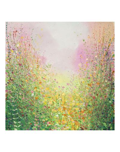 Rose and Lime-Sandy Dooley-Art Print