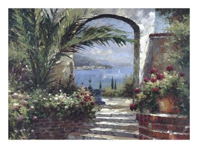 Rose Arch-Peter Bell-Art Print