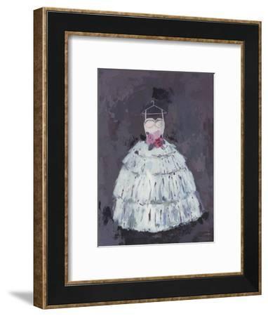 Rose Bodice-Charlotte Hardy-Framed Art Print