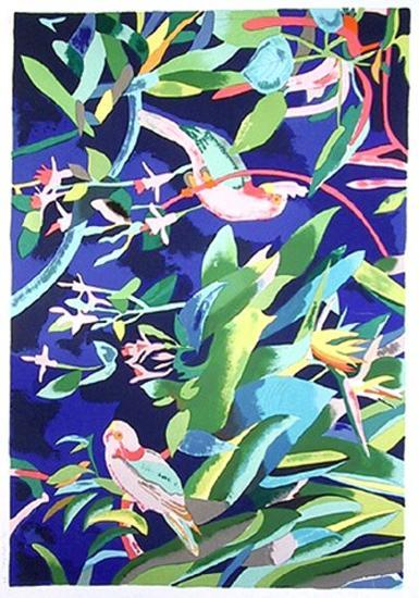 Rose Breasted Cockatoos-Linda Bastian-Collectable Print