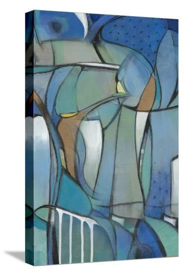 Rose Bud I-Tim OToole-Stretched Canvas Print