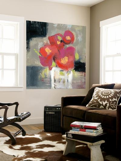 Rose Bud Vase I-Jennifer Goldberger-Wall Mural