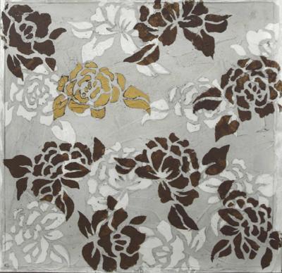 Rose Composition II-Jennifer Goldberger-Art Print