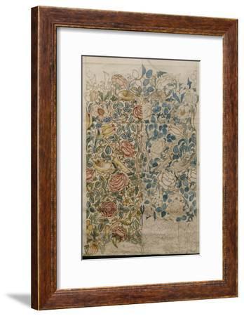 Rose, Design for Chintz--Framed Giclee Print