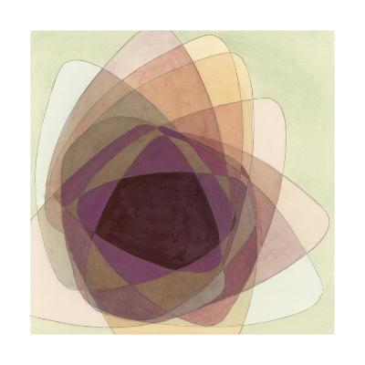 Rose Facet I-Renee W^ Stramel-Art Print