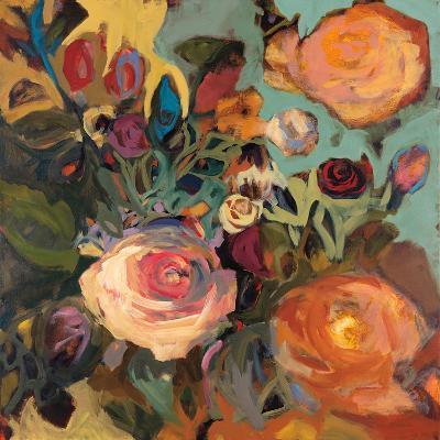 Rose Garden II-Jennifer Harwood-Art Print