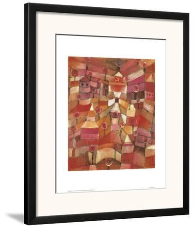 Rose Garden-Paul Klee-Framed Giclee Print