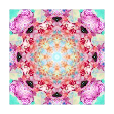 Rose Mandala 1-Alaya Gadeh-Art Print