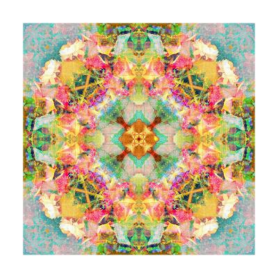 Rose Mandala VIII-Alaya Gadeh-Art Print