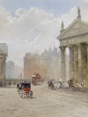 College Green, Dublin, 1887