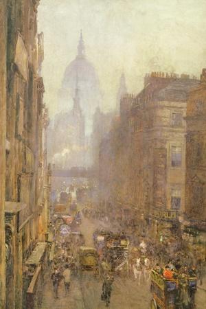 Fleet Street, 1892