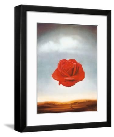 Rose Meditative, c.1958-Salvador Dal?-Framed Art Print