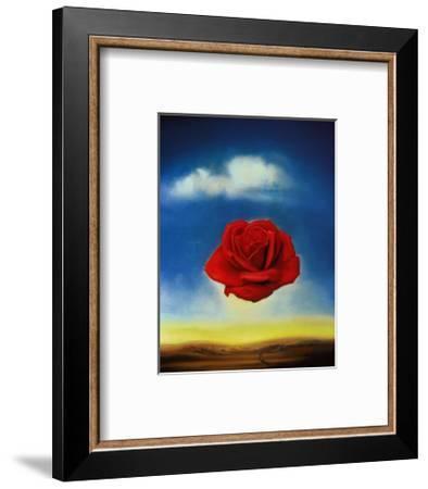 Rose Meditative, c.1958-Salvador Dalí-Framed Art Print